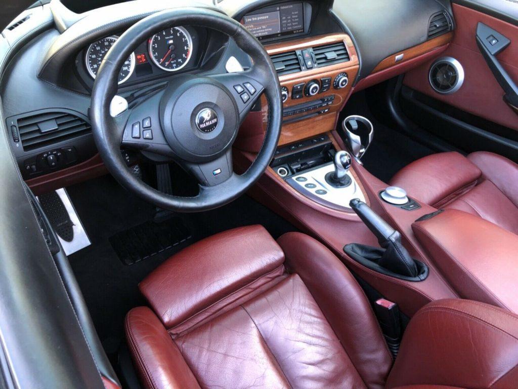 rust free 2008 BMW M6 convertible