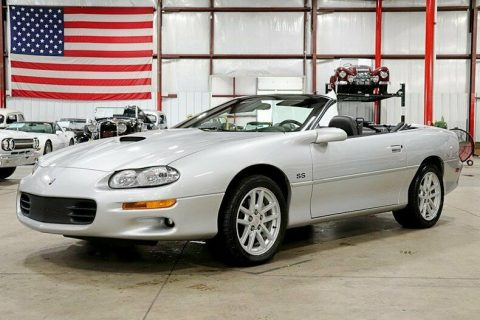 sharp 2002 Chevrolet Camaro Z/28 SS Slp/35th Anniversary Convertible for sale
