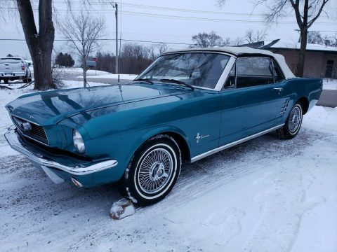 very clean 1966 Ford Mustang Convertible for sale
