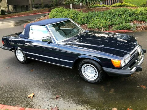 very nice 1985 Mercedes Benz SL Class sl Sports convertible for sale