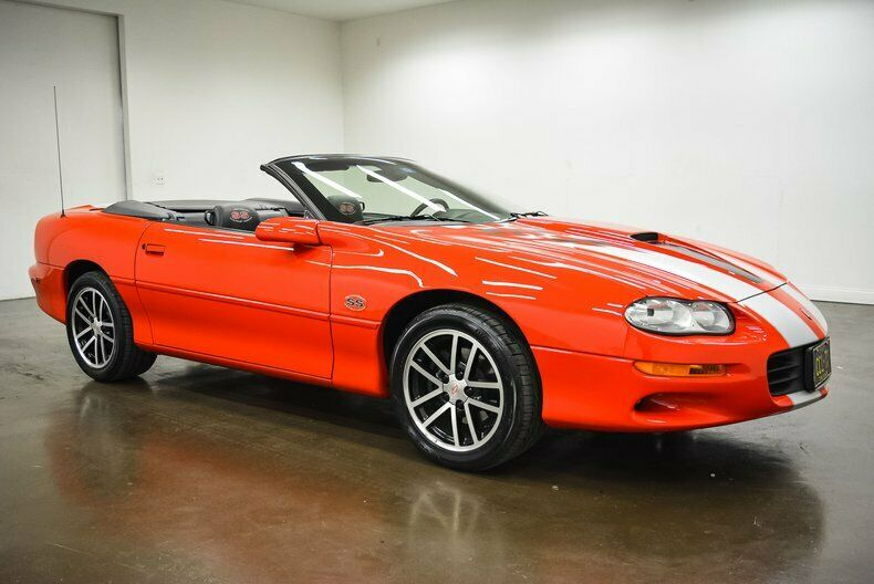 well equipped 2002 Chevrolet Camaro SS SLP Convertible