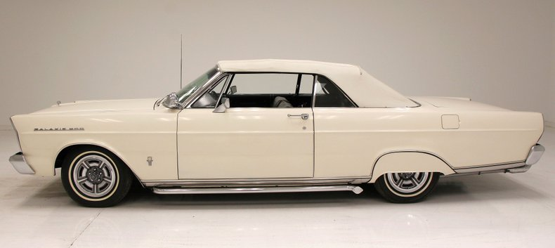 well maintained 1965 Ford Galaxie 500 Convertible