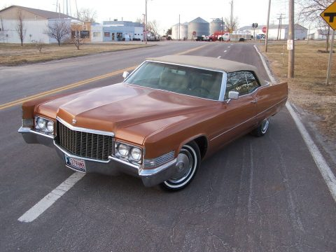 classic 1970 Cadillac Deville Convertible for sale