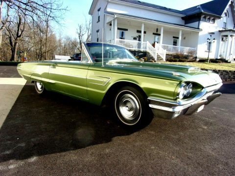 no issues 1965 Ford Thunderbird CONVERTIBLE for sale