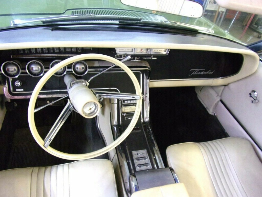 no issues 1965 Ford Thunderbird CONVERTIBLE