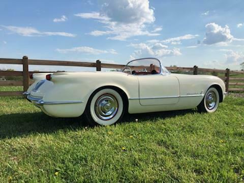 rare 1954 Chevrolet Corvette Convertible