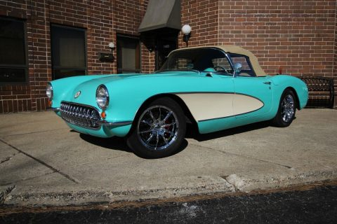 restomod 1957 Chevrolet Corvette convertible for sale
