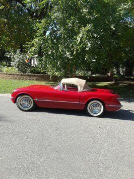 restored 1954 Chevrolet Corvette Convertible for sale