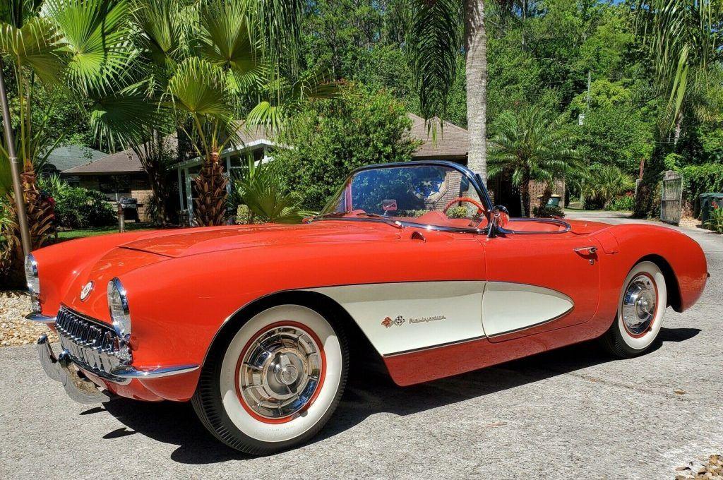 restored 1957 Chevrolet Corvette Convertible