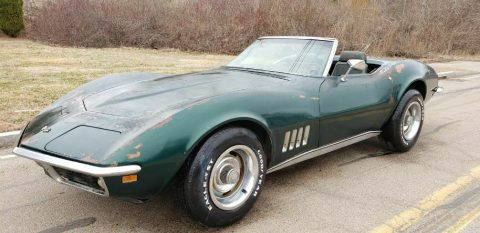stored since 1975 – 1969 Chevrolet Corvette CONVERTIBLE for sale