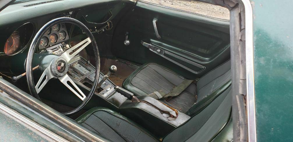stored since 1975 – 1969 Chevrolet Corvette CONVERTIBLE