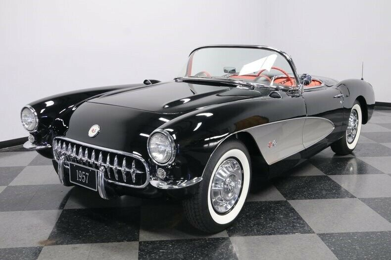 upgraded 1957 Chevrolet Corvette convertible
