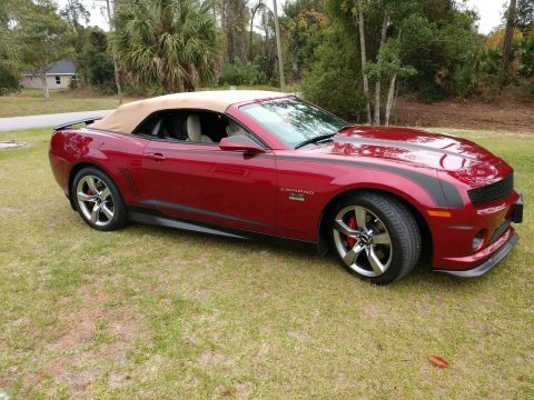 upgraded 2011 Chevrolet Camaro 2SS Convertible for sale