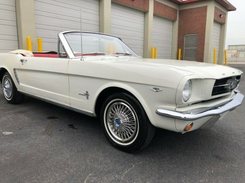 custom interior 1965 Ford Mustang Convertible for sale