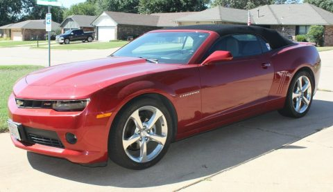 low miles 2015 Chevrolet Camaro RS LT2 Convertible for sale