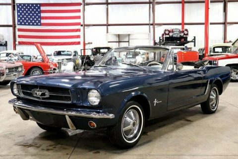 original color 1965 Ford Mustang Convertible for sale