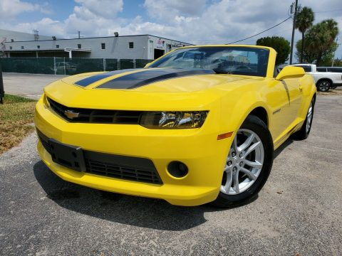 very nice 2014 Chevrolet Camaro LT CONVERTIBLE for sale