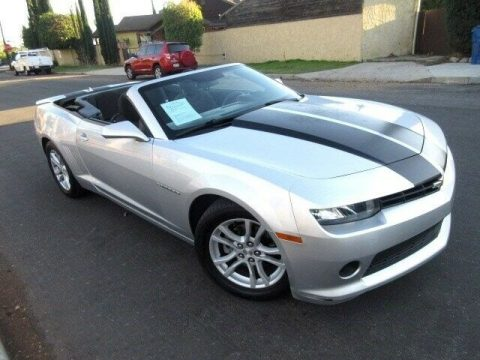 well equipped 2015 Chevrolet Camaro LT Convertible for sale