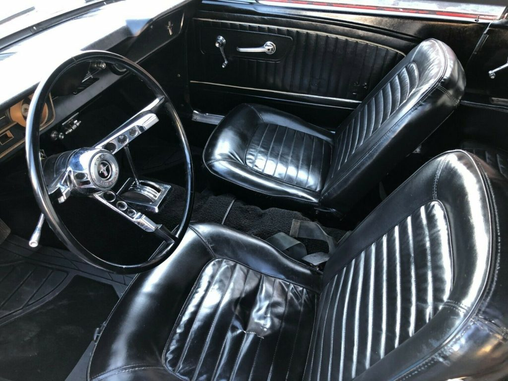 well serviced 1965 Ford Mustang Convertible