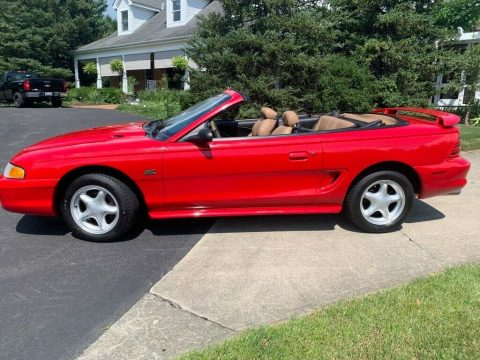 almost original 1994 Ford Mustang GT convertible for sale