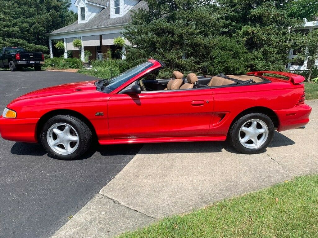 almost original 1994 Ford Mustang GT convertible