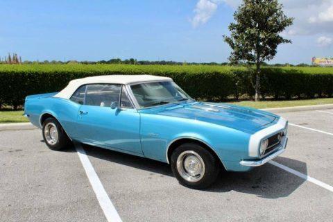 beautiful 1967 Chevrolet Camaro Convertible for sale