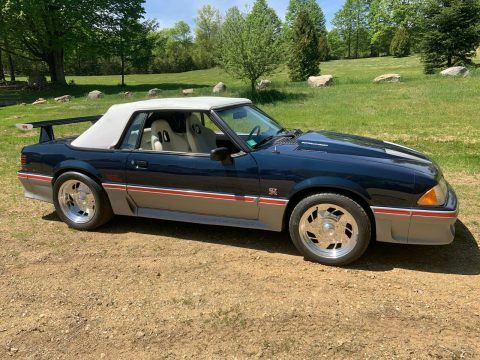 hot rod 1988 Ford Mustang convertible for sale