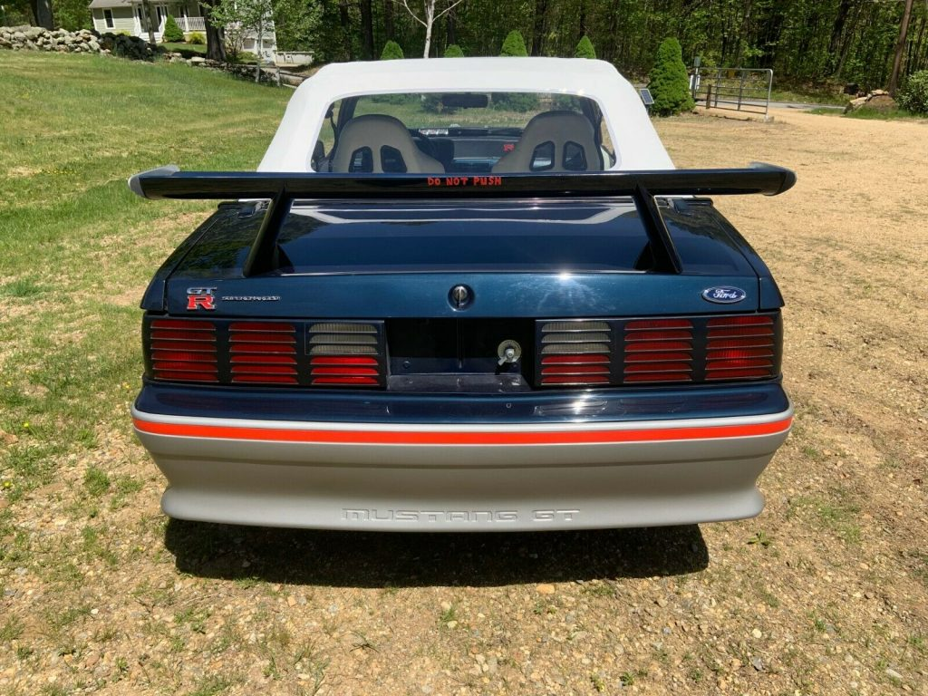 hot rod 1988 Ford Mustang convertible
