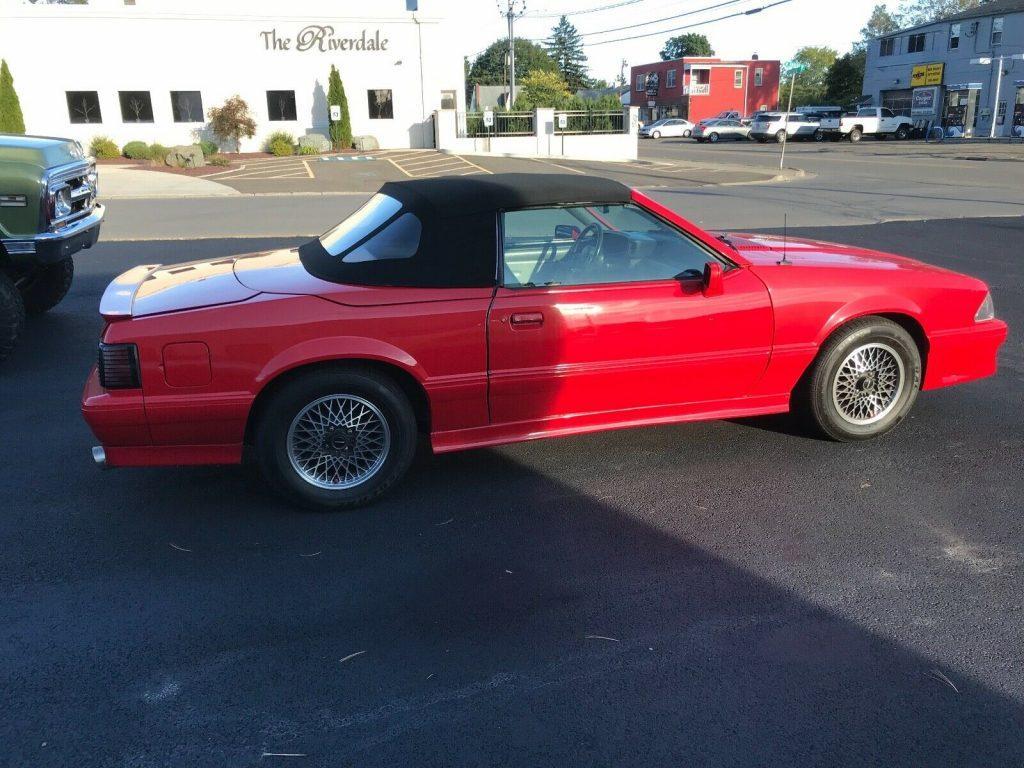 rare 1988 Ford Mustang ASC Mclaren Convertible