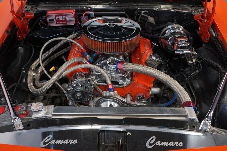 Restomod 1968 Chevrolet Camaro Convertible