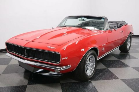 restored 1967 Chevrolet Camaro RS Convertible for sale