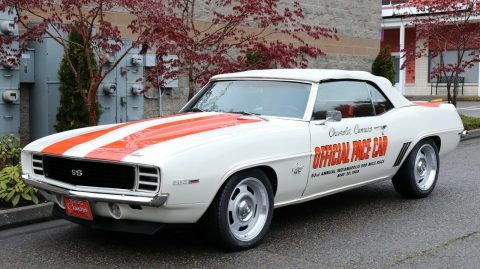 amazing 1969 Chevrolet Camaro Indy 500 Pace Car Pro Touring Convertible for sale