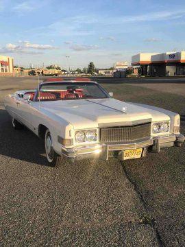 amazing shape 1974 Cadillac Eldorado Convertible for sale