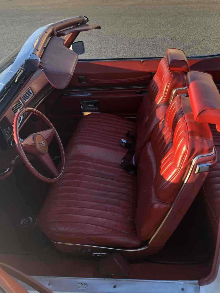 amazing shape 1974 Cadillac Eldorado Convertible