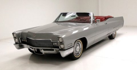 low miles 1968 Cadillac Deville Convertible for sale