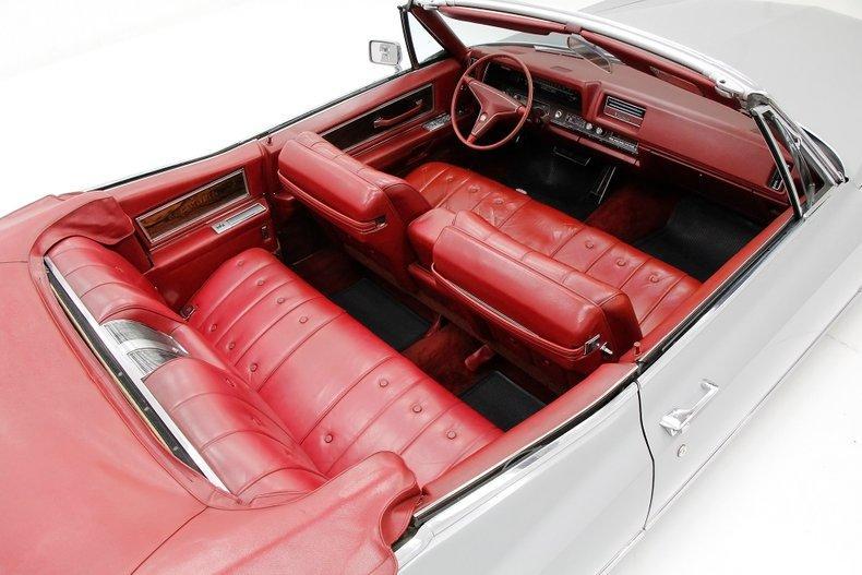 low miles 1968 Cadillac Deville Convertible