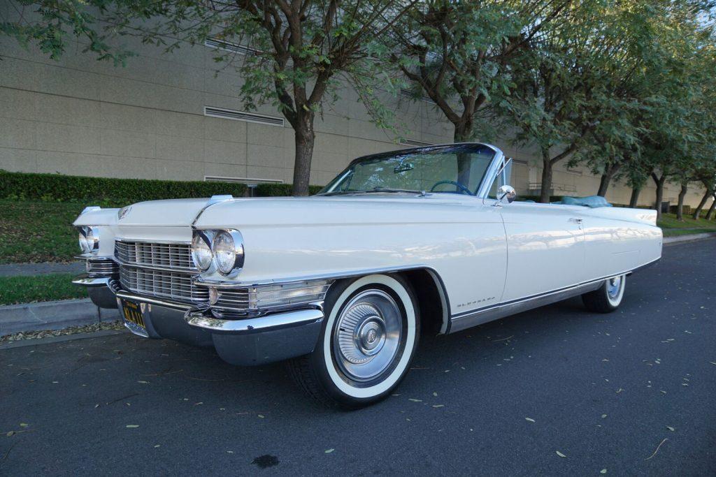 mint 1963 Cadillac Eldorado Convertible