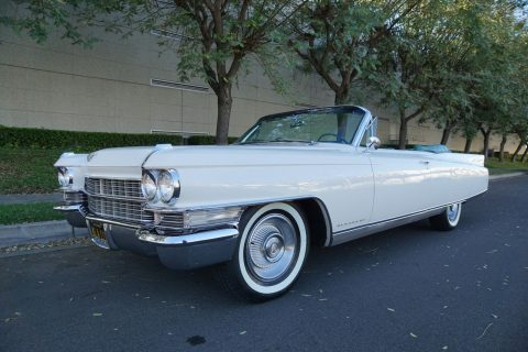 mint 1963 Cadillac Eldorado Convertible for sale