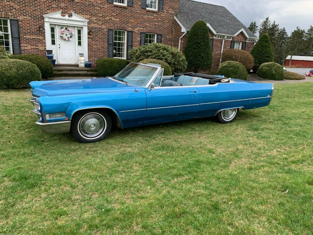 needs some work 1966 Cadillac DeVille Convertible