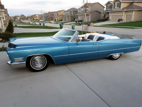 New transmission 1968 Cadillac DeVille Convertible for sale
