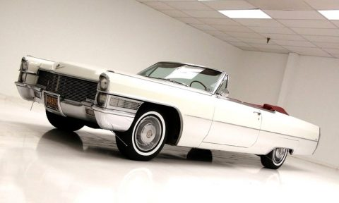 nice 1965 Cadillac Deville Convertible for sale