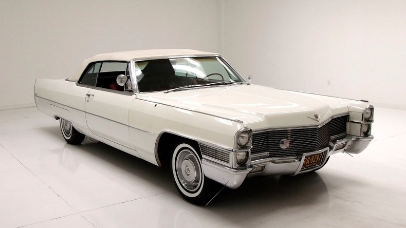 nice 1965 Cadillac Deville Convertible