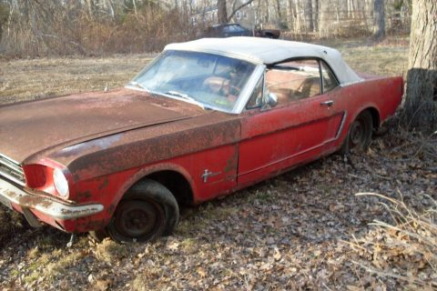 project 1964 Ford Mustang Convertible for sale