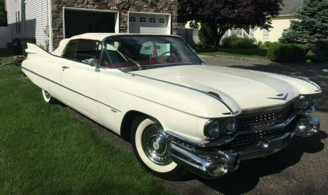 restored 1959 Cadillac Series 62 CONVERTIBLE for sale
