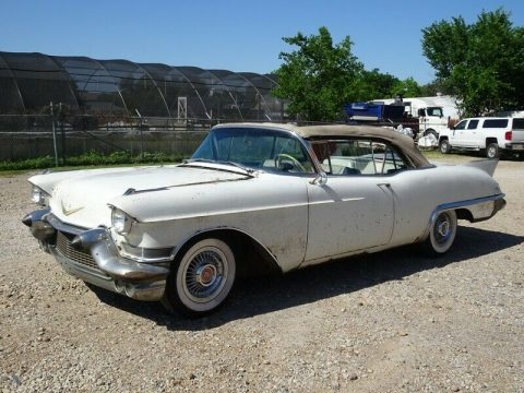 stored since 1966 project 1957 Cadillac Eldorado BIARRITZ convertible for sale