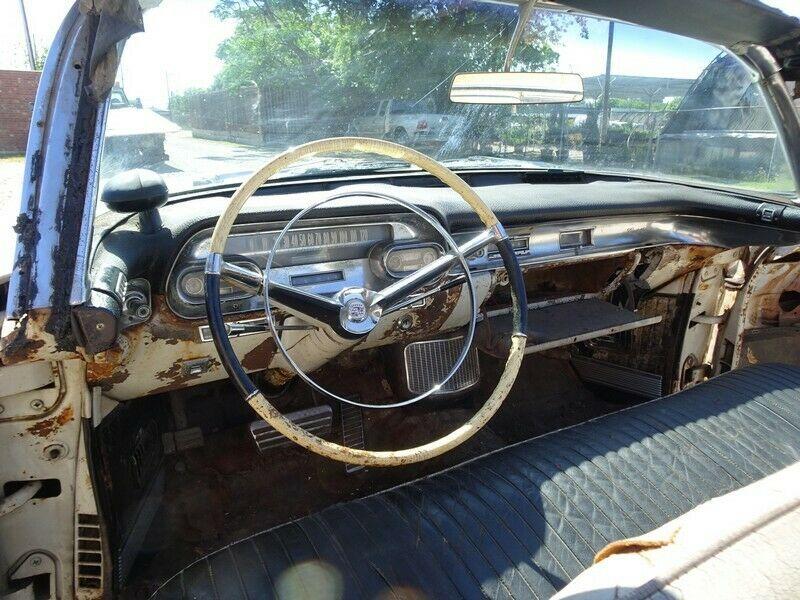 stored since 1966 project 1957 Cadillac Eldorado BIARRITZ convertible