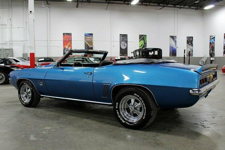 stout 1969 Chevrolet Camaro Convertible