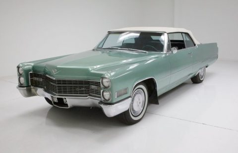 survivor 1966 Cadillac Deville Convertible for sale