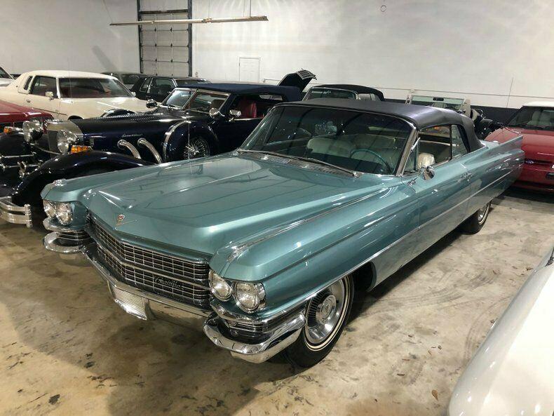 amazing original example 1963 Cadillac DeVille Convertible