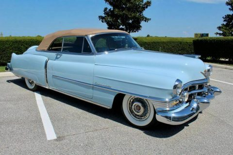beautiful 1952 Cadillac Series 62 convertible for sale